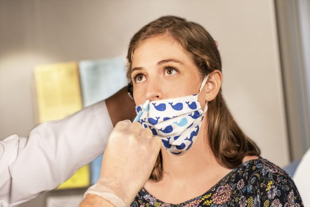 Patient who receiving LAIV flu vaccine