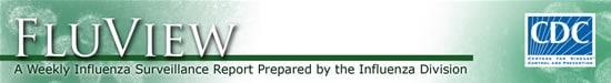 FluView: Informe semanal sobre vigilancia de la influenza realizado por la División de Influenza.