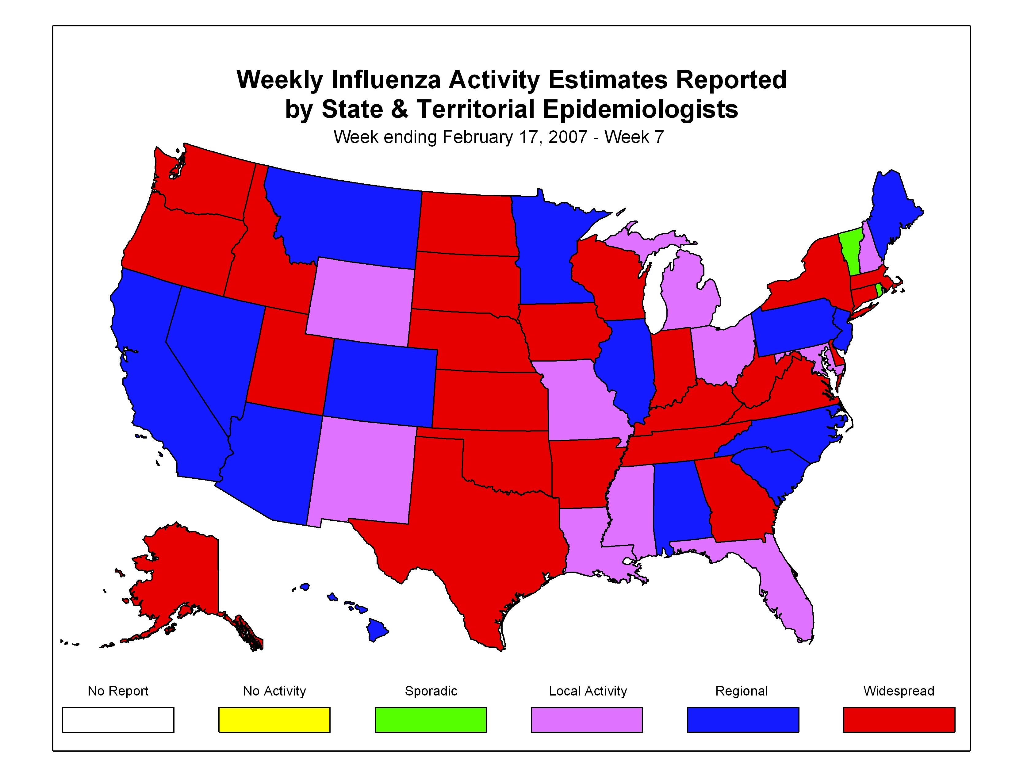 Doctor Anonymous What Flu Epidemic - Map of us flu outbreak