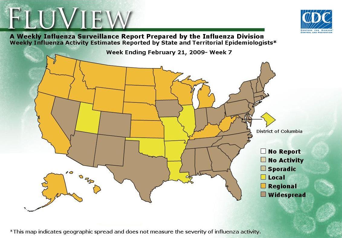 WEEK 7, 2008 FLU MAP NOT PRESENT ON SERVER