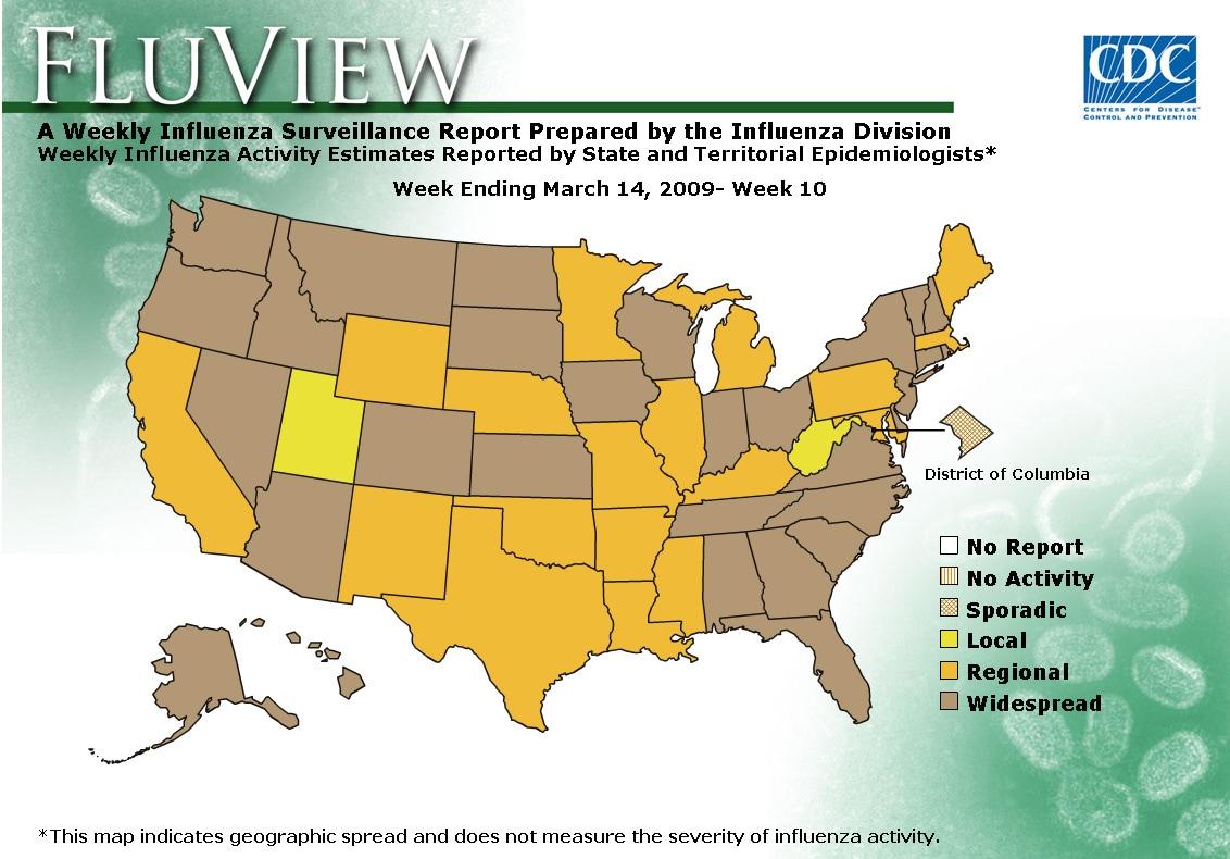 WEEK 10, 2008 FLU MAP NOT PRESENT ON SERVER