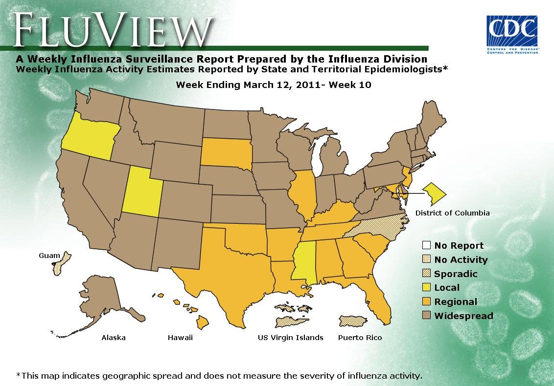 WEEK 10, 2010 FLU MAP NOT PRESENT ON SERVER