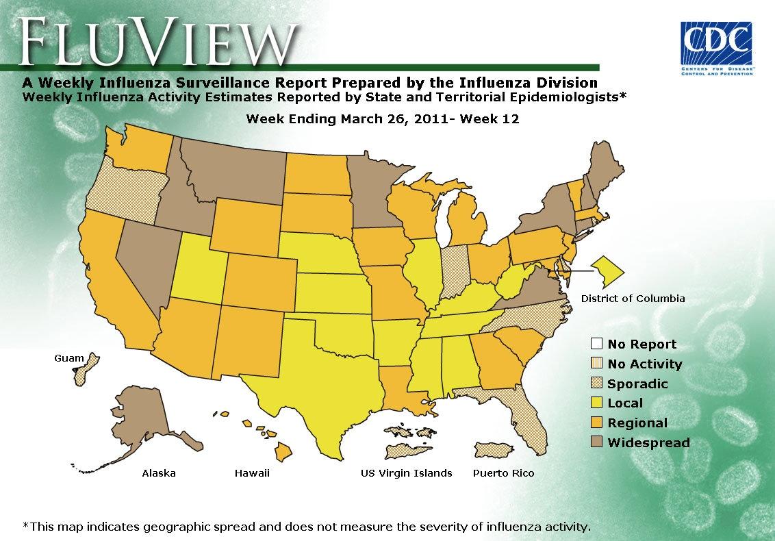 WEEK 12, 2010 FLU MAP NOT PRESENT ON SERVER