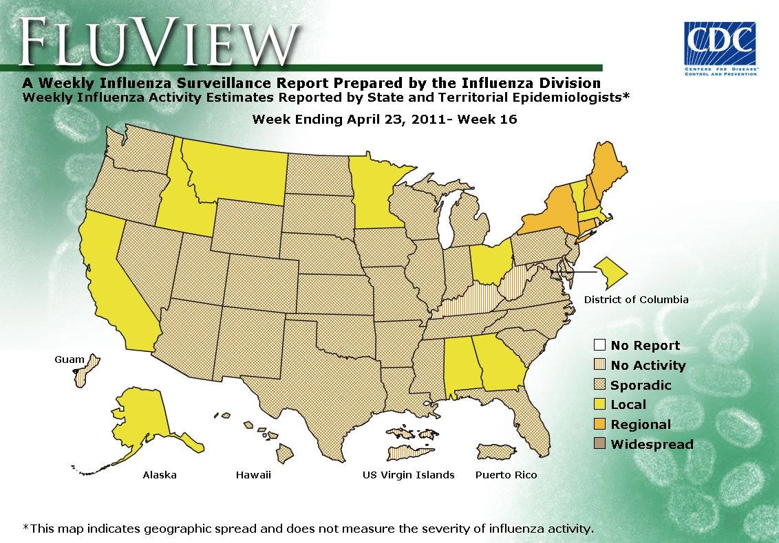 WEEK 16, 2010 FLU MAP NOT PRESENT ON SERVER