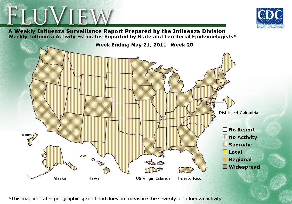 WEEK 20, 2010 FLU MAP NOT PRESENT ON SERVER