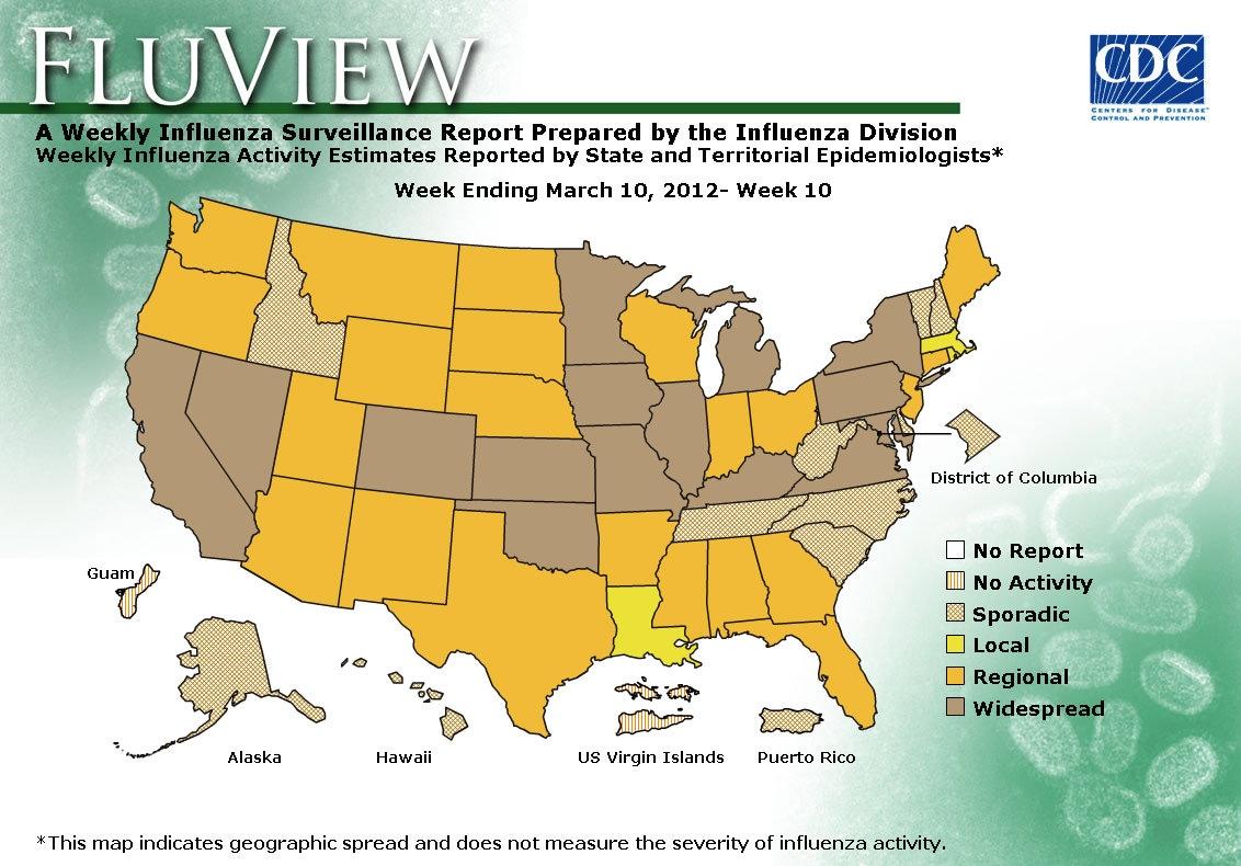 WEEK 10, 2011 FLU MAP NOT PRESENT ON SERVER