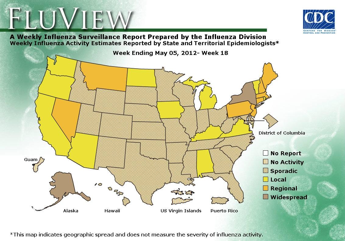 WEEK 18, 2011 FLU MAP NOT PRESENT ON SERVER
