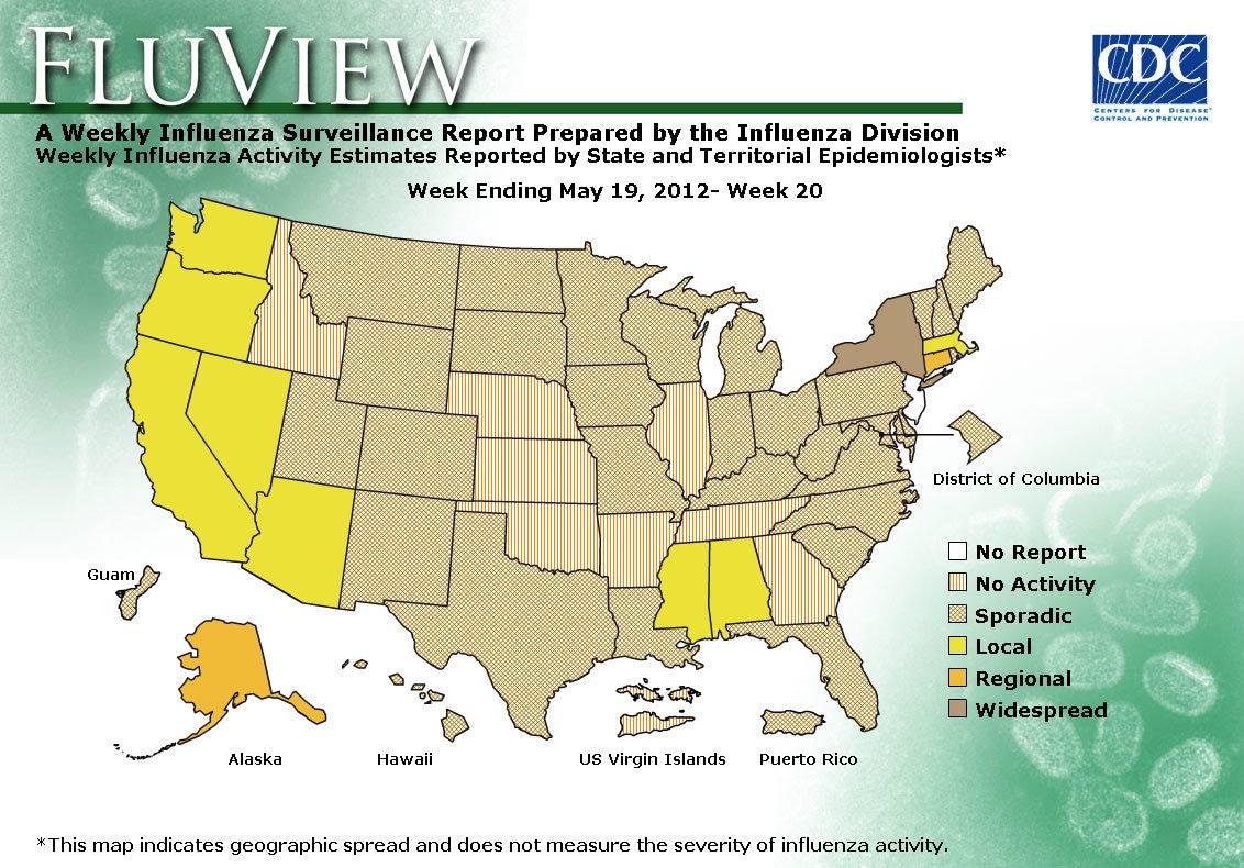 WEEK 20, 2011 FLU MAP NOT PRESENT ON SERVER