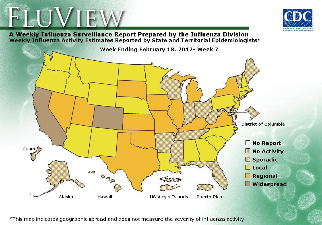 WEEK 7, 2011 FLU MAP NOT PRESENT ON SERVER