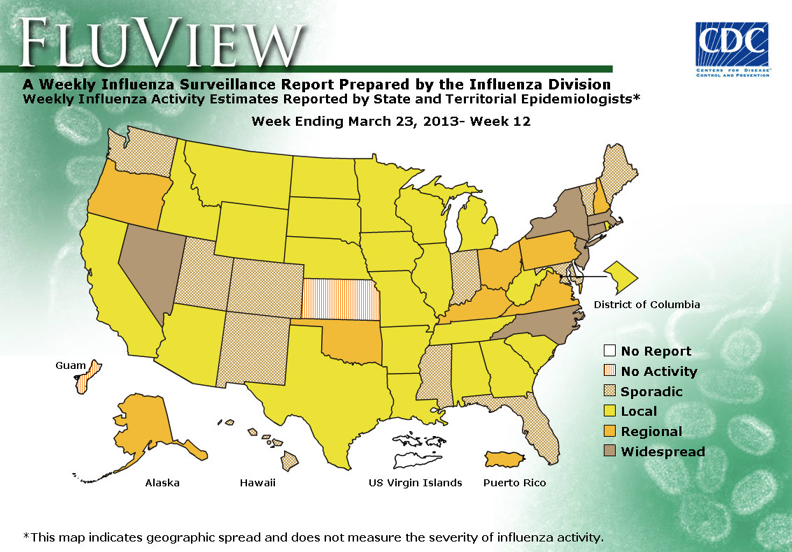 WEEK 12, 2012 FLU MAP NOT PRESENT ON SERVER