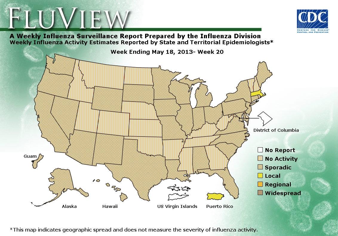 WEEK 20, 2012 FLU MAP NOT PRESENT ON SERVER