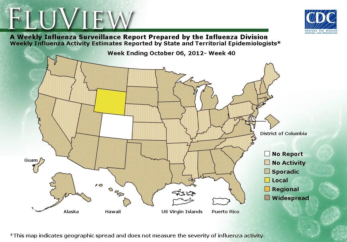WEEK 40, 2012 FLU MAP NOT PRESENT ON SERVER
