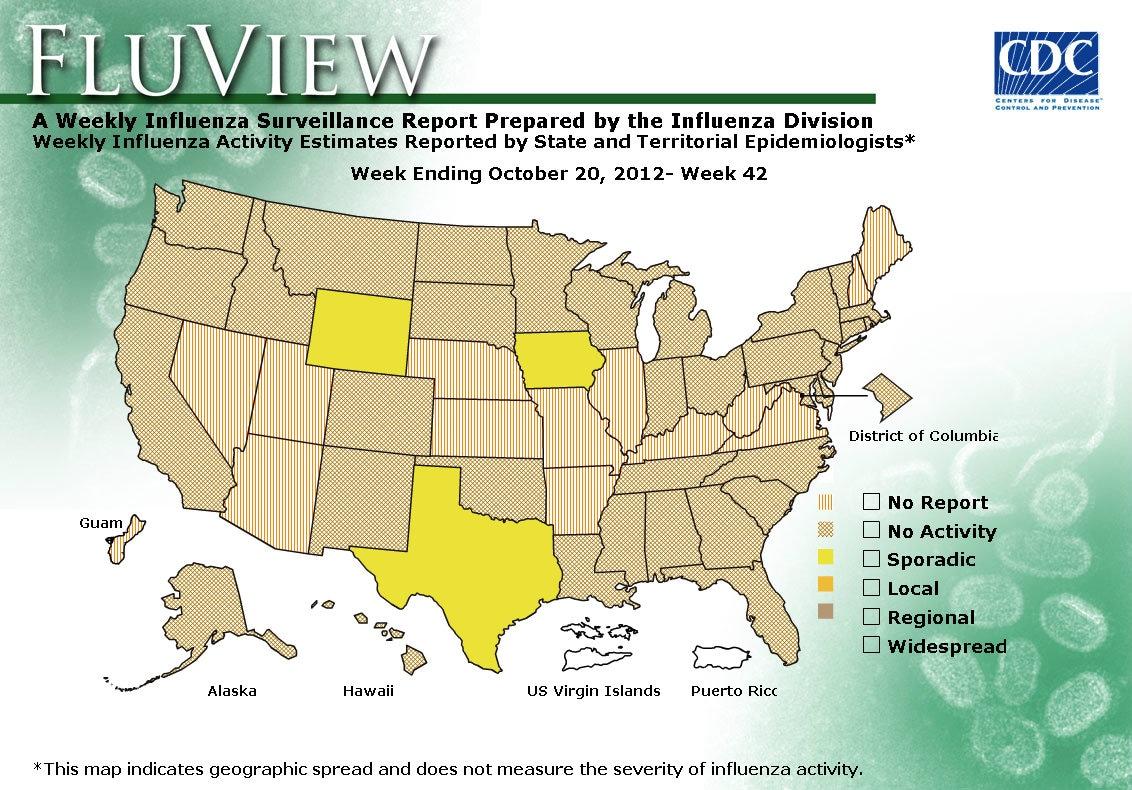 WEEK 42, 2012 FLU MAP NOT PRESENT ON SERVER
