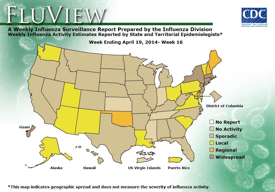 WEEK 16, 2013 FLU MAP NOT PRESENT ON SERVER