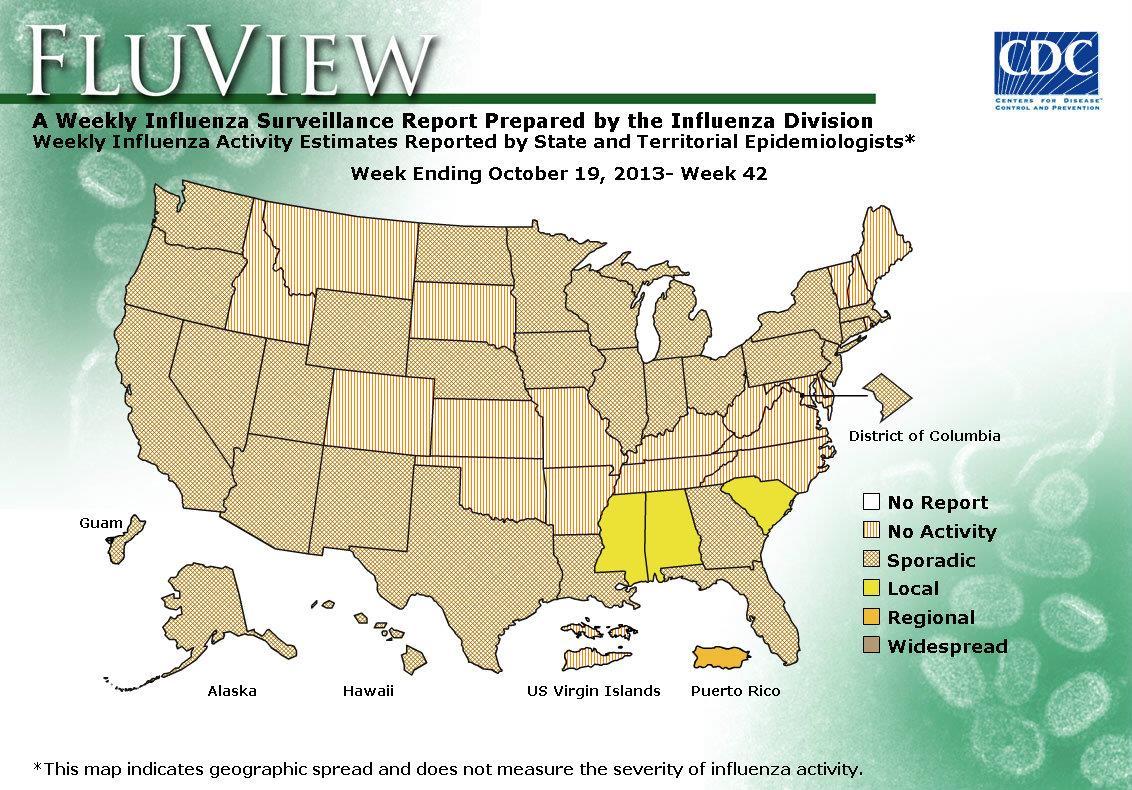 WEEK 42, 2013 FLU MAP NOT PRESENT ON SERVER