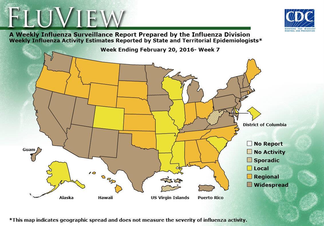 WEEK 7, 2015 FLU MAP NOT PRESENT ON SERVER