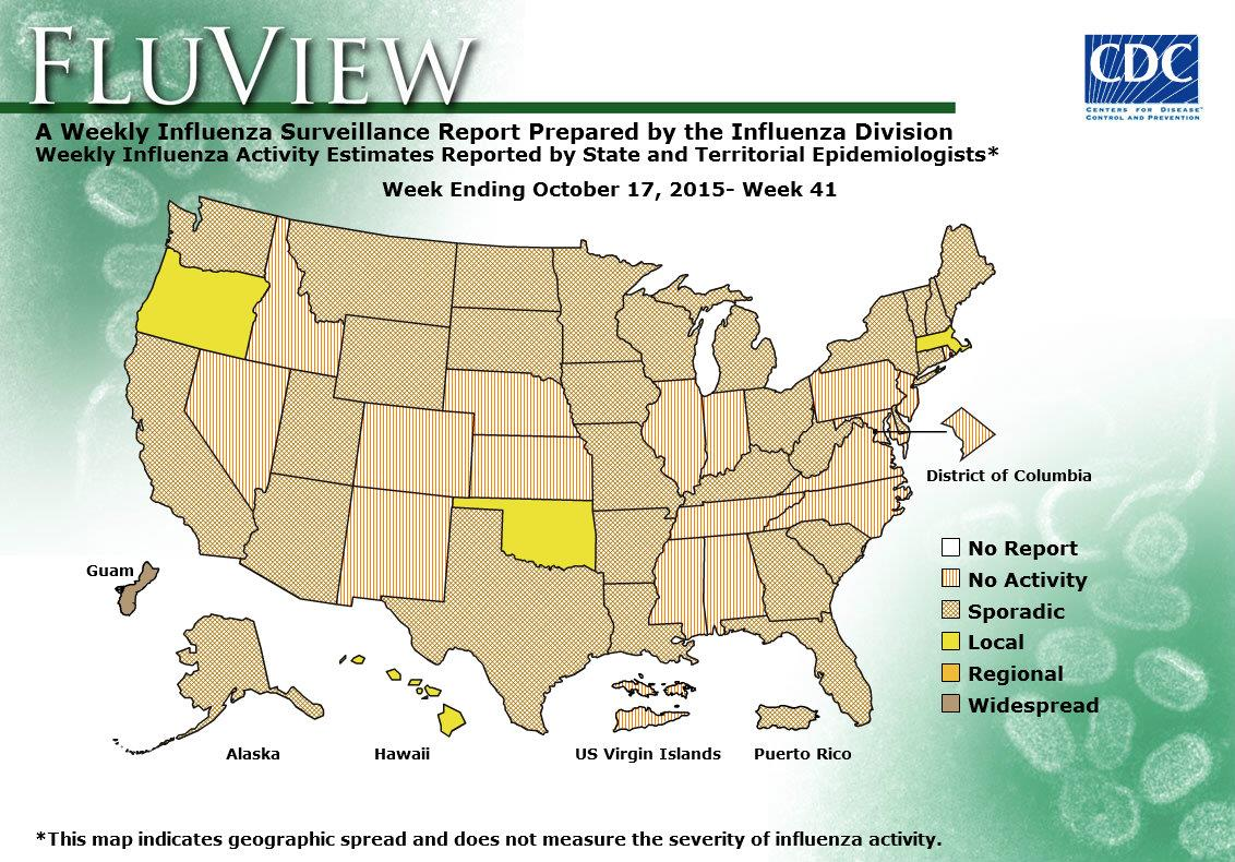 WEEK 41, 2015 FLU MAP NOT PRESENT ON SERVER