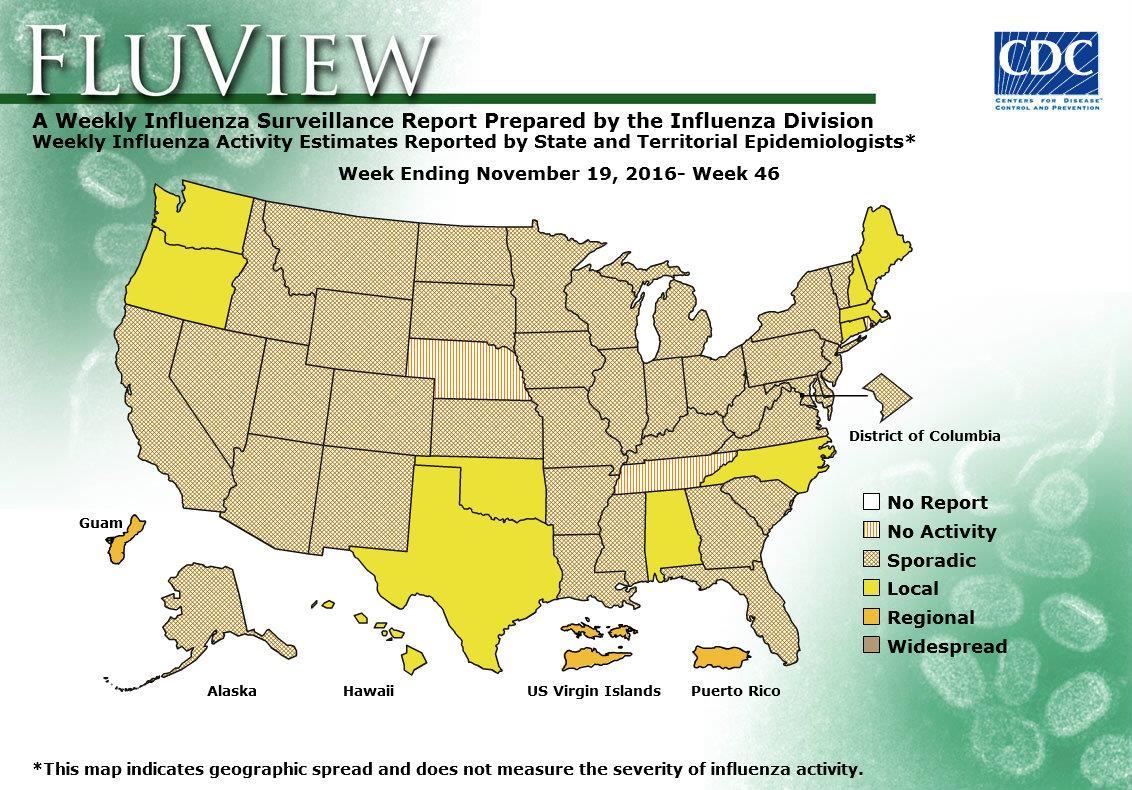 WEEK 46, 2016 FLU MAP NOT PRESENT ON SERVER