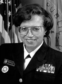 Audrey F. Manley, MD, MPH, acting United States Surgeon General