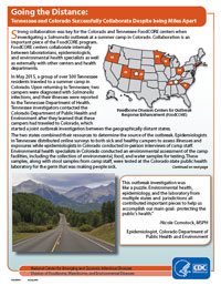 Image of pdf: Going the Distance: Tennessee and Colorado Successfully Collaborate Despite being Miles Apart