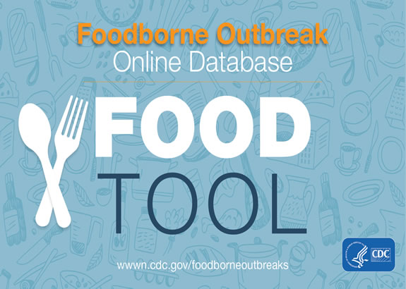 Graphic: foodborne outbreak online database - food tool
