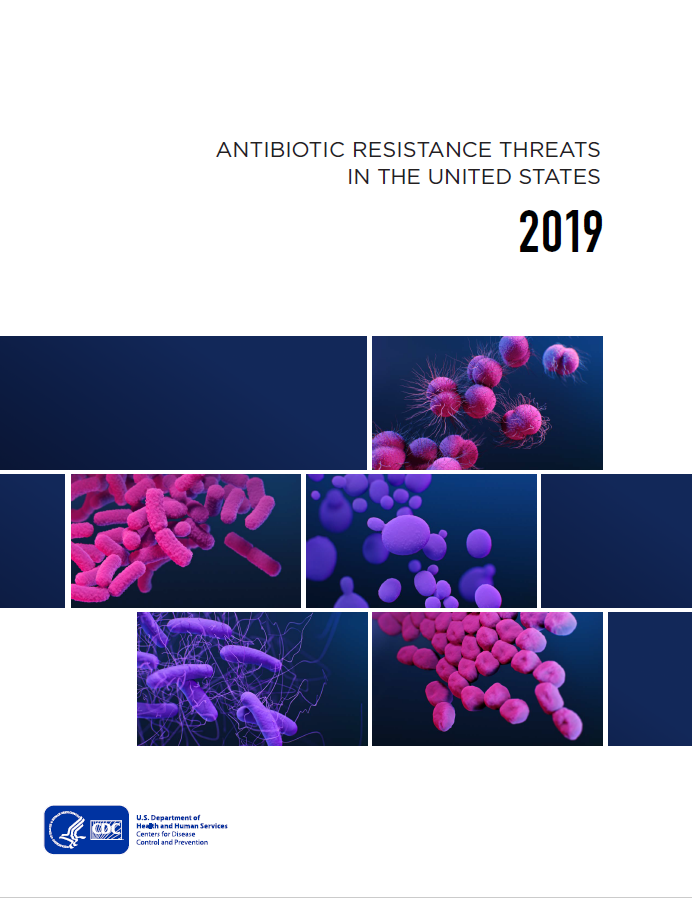 Cover of Report: Antibiotic Resistance Threats In The United States - 2019