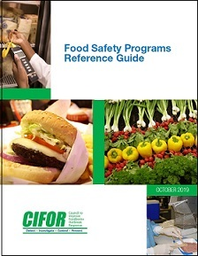 Cover of Food Safety Programs Reference Guide