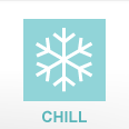 Chill Step to food safety snowflake image