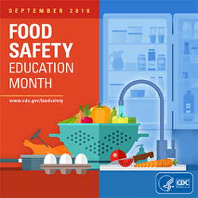 Food Safety Education month promo