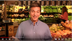 safe and healthy raw fruits and vegetables video