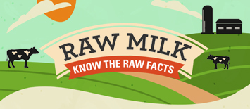 Graphic: Raw Milk, Know the Facts.