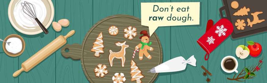 Holiday Twitter chat image Dont eat raw dough