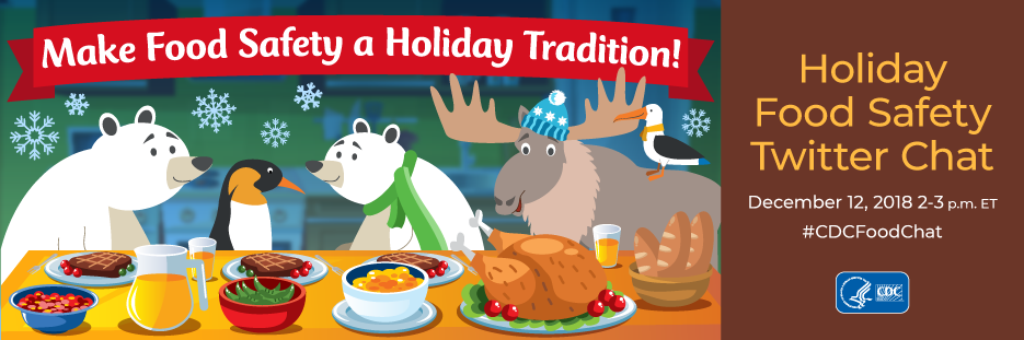 Holiday Food Safety Twitter Chat home banner