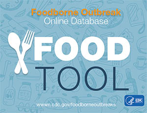 Graphic: Foodborne Outbreak Online Database Food Tool.