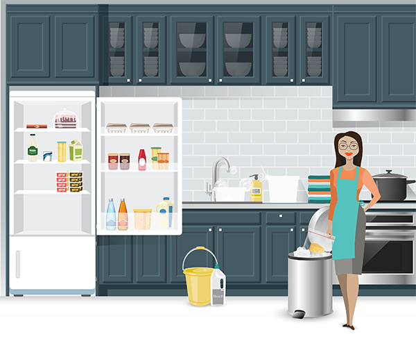 Cleaning Your Refrigerator Because of a Food Recall | Food