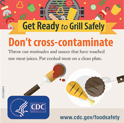 Grill Safety Don't cross contaminate instagram