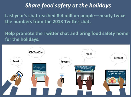 Share food safety at the holidays