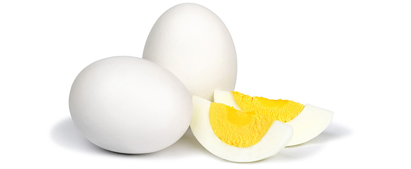 Photo of hard-boiled eggs