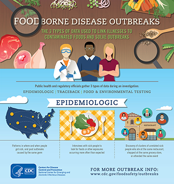 Infographic: Foodborne Disease Outbreaks