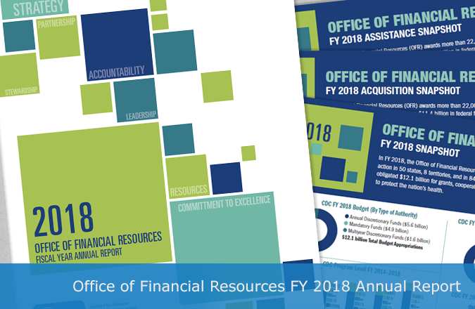 Fiscal Year 2018 Office of Financial Resources annual report