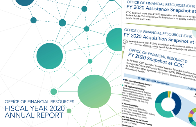 Fiscal Year 2020 Office of Financial Resources annual report and snapshots