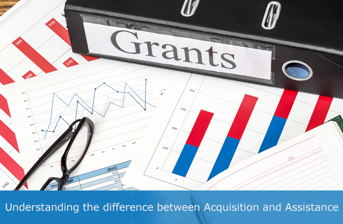 Understanding the difference between acquisition and assistance