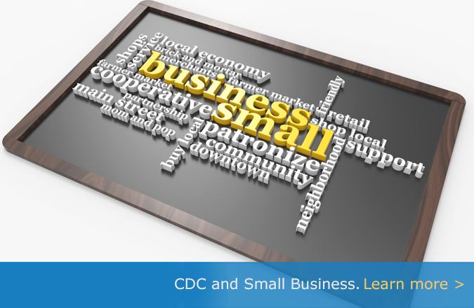 Learn more about CDC and Small Business