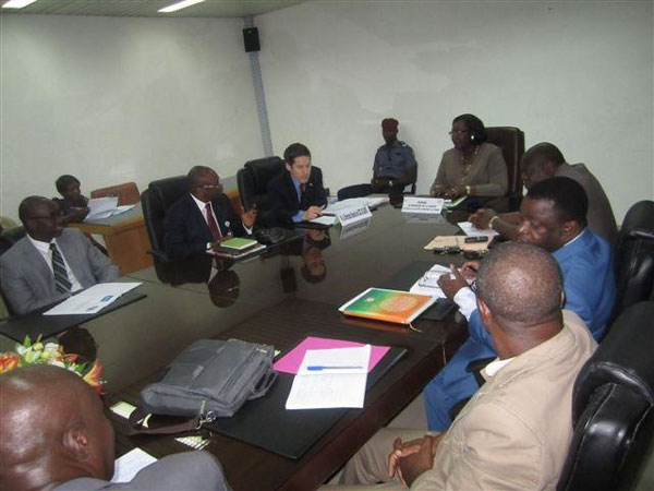 CDC activities in Cote D'Ivoire