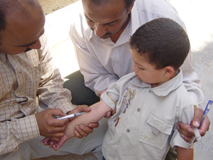 Vaccination to children
