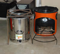 New stove technologies being tested by KEMRI/CDC, SWAP, and Berkeley Air in 50 households