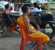 Image of laos monks