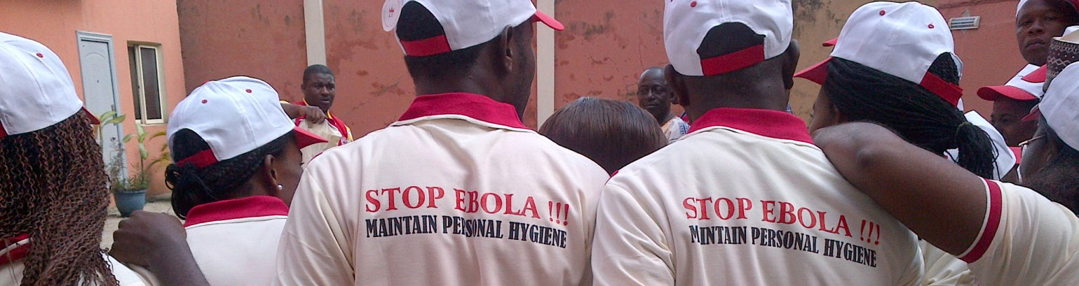 Stop Ebola; training in Nigeria