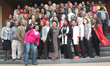 South Africans from national and provincial Departments of Health and other health-related organizations gathered to participate in a two-and-a-half day hands-on workshop on risk communication in Pretoria, South Africa.