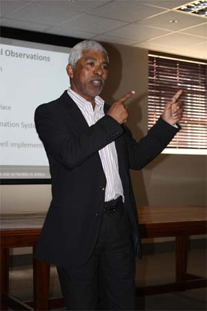 """The program has become absolutely fundamental and we have got to accelerate it,"" said Sagie Pillay, CEO of the NHLS at the launch of the WHO AFRO SLIPTA SA Audit Report by ASLM on 25 July 2014 in Sandringham, Johannesburg."